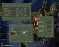 Counter Strike 1.6 Game Menu
